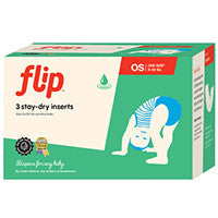 Flip Stay Dry Insert 3-Pack- One Size