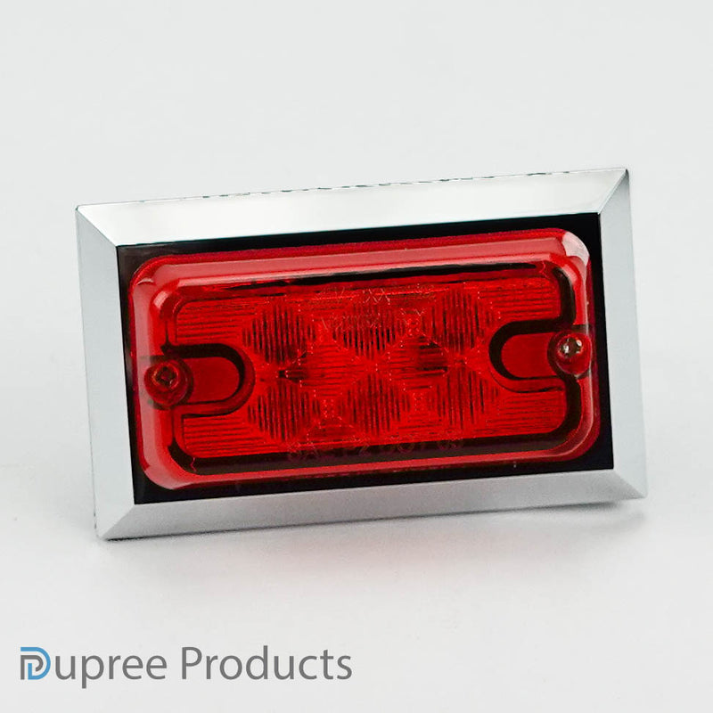 LED Clearance Lamp - Red