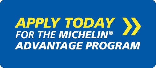 Michelin Tire Advantage Program - FREE to enroll