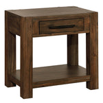 Domingo 1 Drawer Accent Table in Walnut