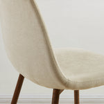 Lyna Side Chair, set of 4 in Beige