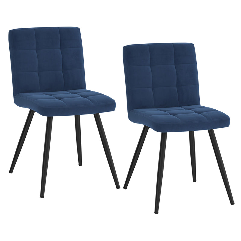 Suzette Side Chair, set of 2 in Blue