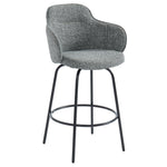 Colani 26'' Counter Stool, set of 2 in Grey