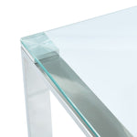Zevon Coffee Table in Silver