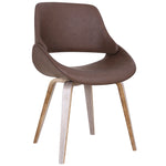 Serano Accent/Dining Chair in Brown