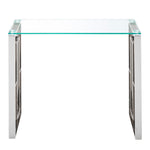 Eros Console/Desk in Silver
