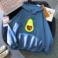 Load image into Gallery viewer, Cartoon Avocado Pullover Hoodie - R0020 / M1 - Sports &
