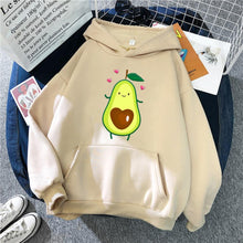 Load image into Gallery viewer, Cartoon Avocado Pullover Hoodie - R0020 / M2 - Sports &