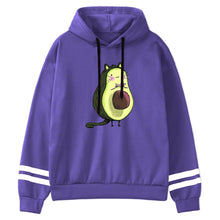 Load image into Gallery viewer, Cartoon Avocado Pullover Hoodie - R0040 / M2 - Sports &