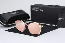 Load image into Gallery viewer, Luxury Round Oversized Women's Sunglasses - Pink - round