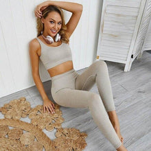 Load image into Gallery viewer, Women Seamless Yoga Set - 1 / L - Sports & Entertainment -