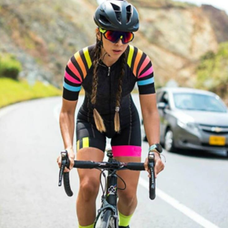 High-Quality Triathlon Cycling Set