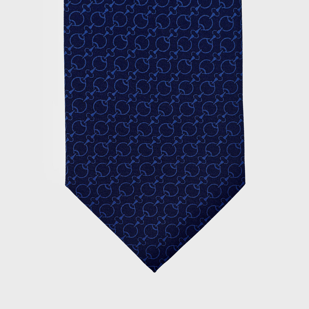 Load image into Gallery viewer, Unchain my heart I Handmade Italian Tie I Blue-Light Blue