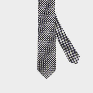 Load image into Gallery viewer, Paisley I Handmade Italian Tie I Navy Blue-Beige