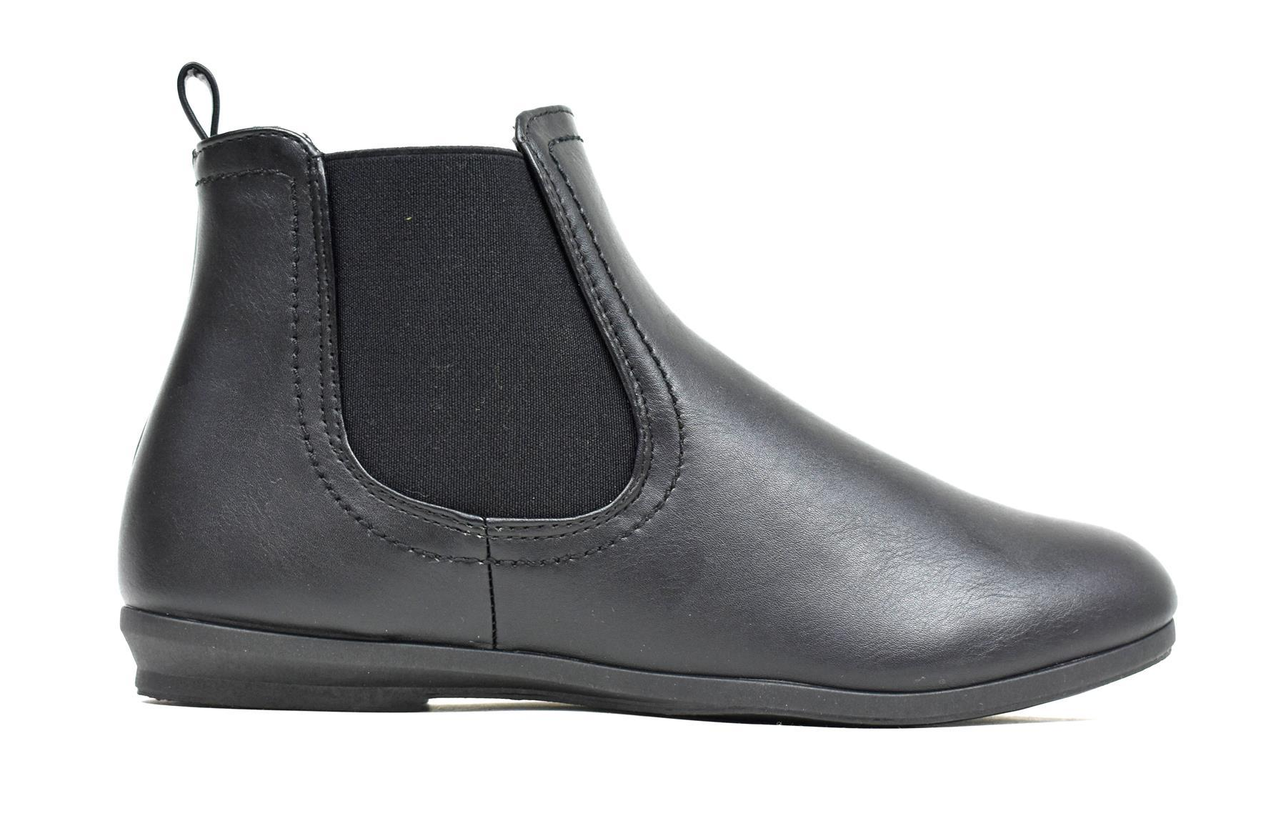 Gusset Everyday Bootie Black