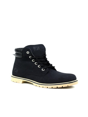 Bartium High Top Boot Black