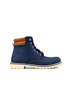 Bartium High Top Boot Navy