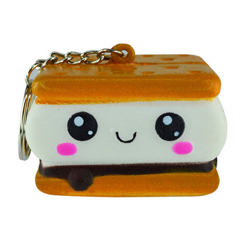 S'more Squish-N-Squeez'em Keychain