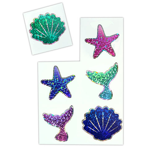 Sparkle Mermaid Stickers