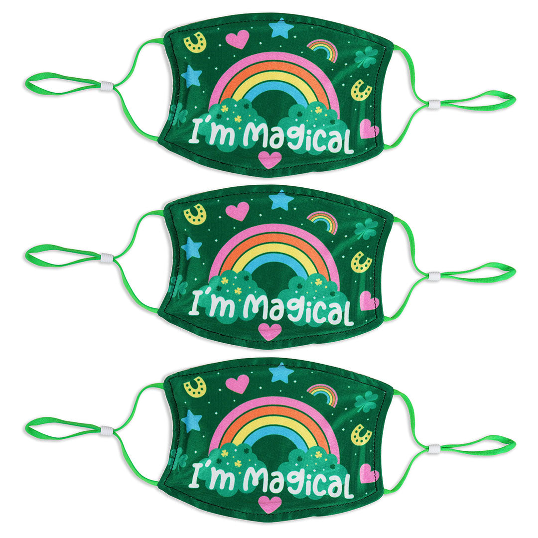 Adult St. Patrick's Day 3 Pack Mask Set - I'm Magical