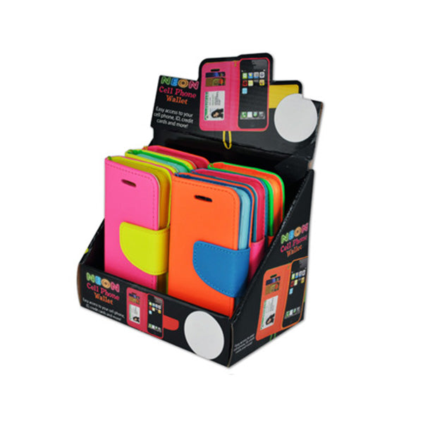 Neon Bookfold Cell Cases