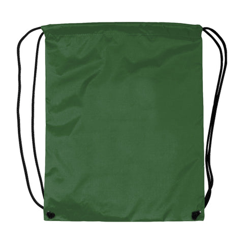 Dark Green Cinch Bags
