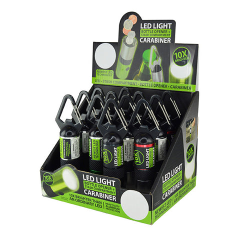 Multi Function LED Light Bottle Openers