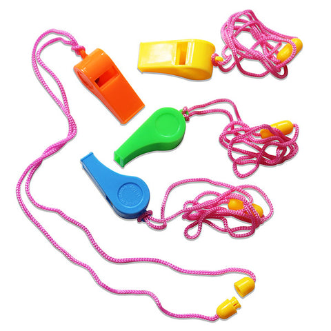 Colorful Whistles