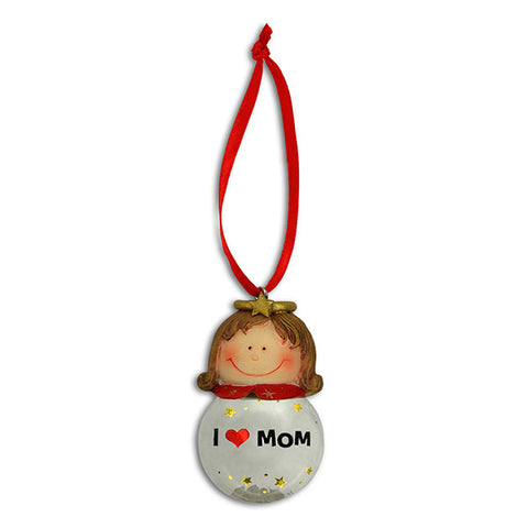 Mom Angel Christmas Ornaments