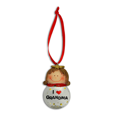 Grandma Angel Christmas Ornaments