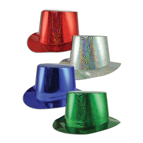 Holographic Paper Top Hats