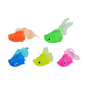 Colorful Tpr Goldfish