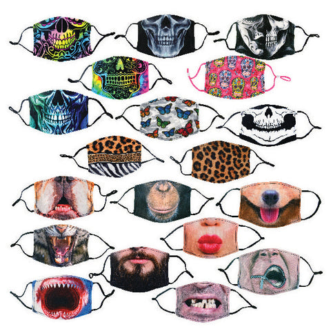 Polyester Printed Face Mask