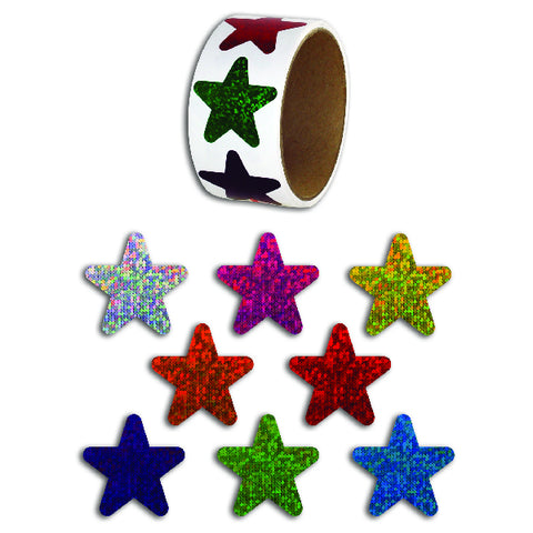 Laser Star Stickers