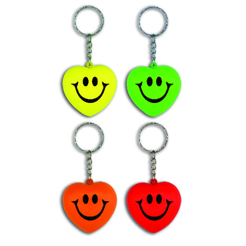 Smile Heart Keychains