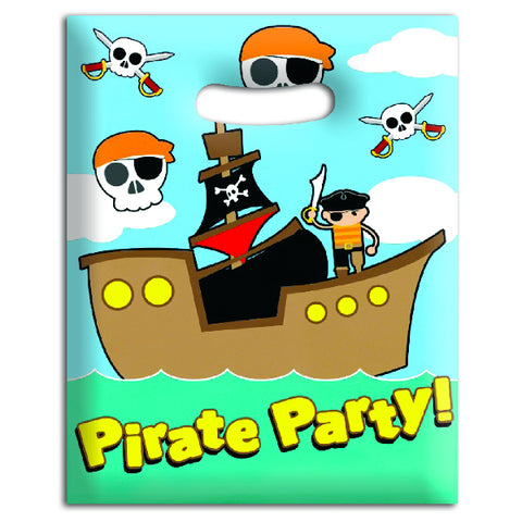 Pirate Plastic Goody Bags