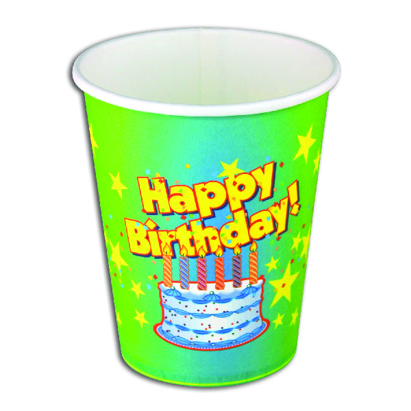 Birthday Themed Party Cups