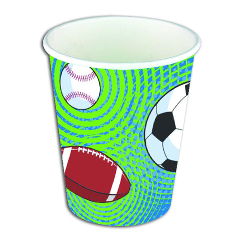 Sporty Themed Party Cups