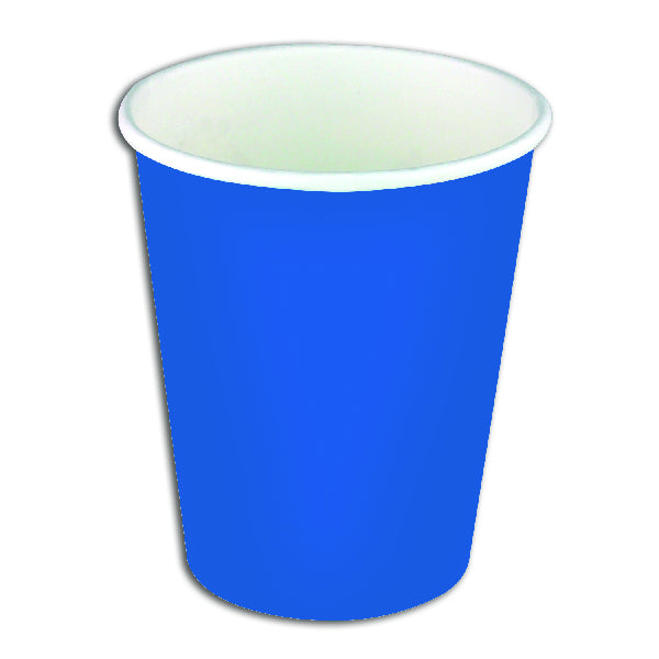 Blue Paper Party Cups