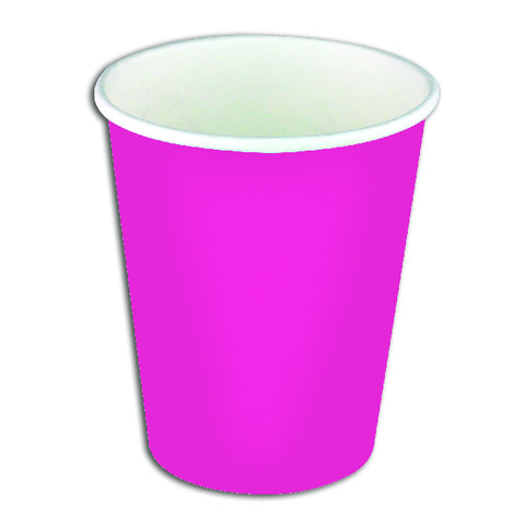 Pink Paper Party Cups