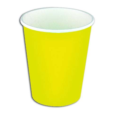 Yellow Paper Party Cups