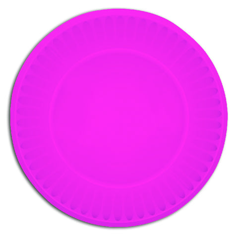 Pink Paper Party Plates
