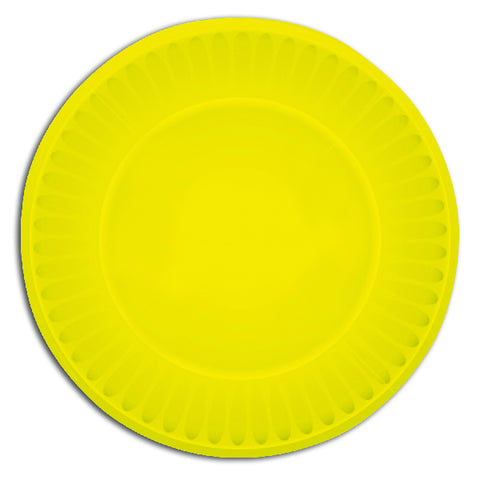Yellow Paper Party Plates