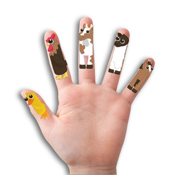 Farm Finger Tattoos
