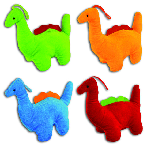 Colorful Stuffed Dinosaurs