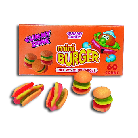 Hamburger Gummy Zone