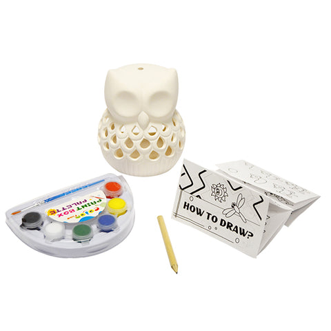 Owl Candle Holder Craft Kit