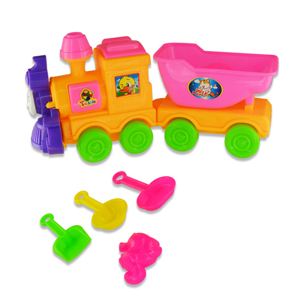 Sand Box Toy Train
