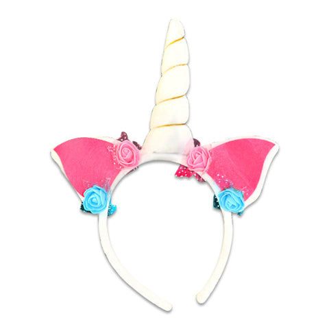 Deluxe Unicorn Horn Headbands