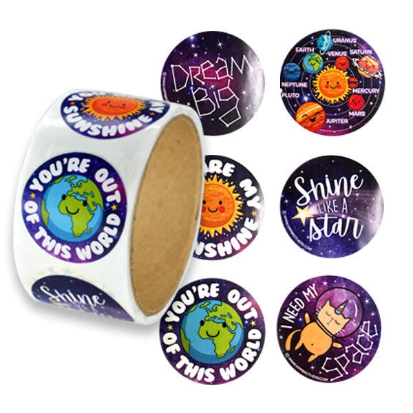 Galaxy & Space Stickers